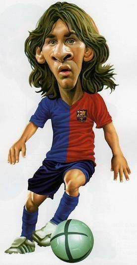 Caricaturas de Messi