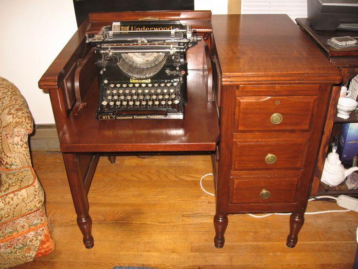 Typewriter Desk   Collectors Weekly - 7 Best Typewriter Desks Images On Pinterest Typewriters, Desk