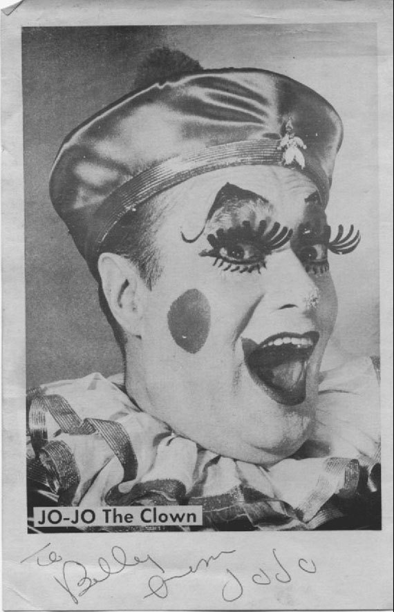 Autographed JOJO the Clown Photo by shazdg on Etsy, $6.00