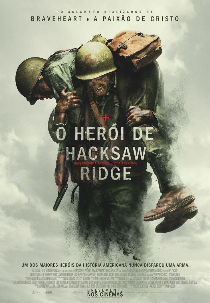 A história Desmond Doss, que numa das batalhas mais sangrentas da 2ª Guerra Mundial, salvou 75 pessoas sem disparar uma única arma.