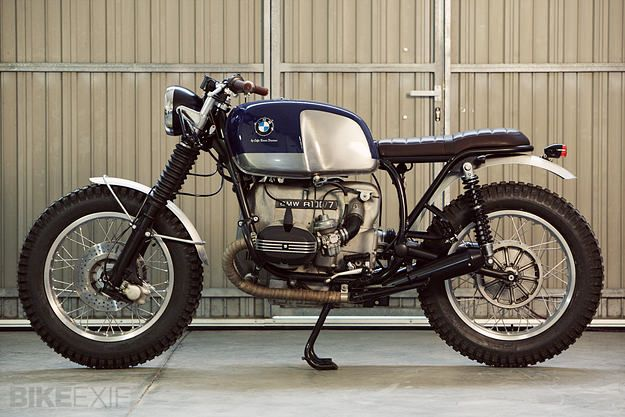 """BMW R100/7 cafe racer by Cafe Racer Dreams - """"looks the business"""" indeed"""