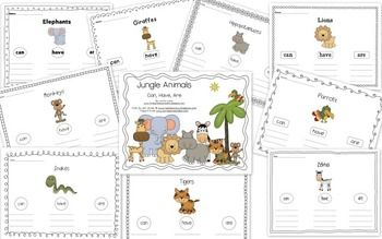 Use these when you teach your Jungle Animal Unit! They're great to use when reading informational text. It's an easy way for kids to jot down new information learned.I've included one for monkeys, snakes, lions, hippos, zebras, giraffes, parrots, tigers, and elephants.