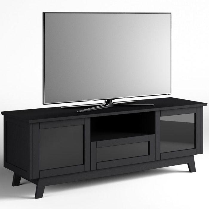 Salamander Designs Av Basics Sdav5 7225 72 Tv Stand Black Oak