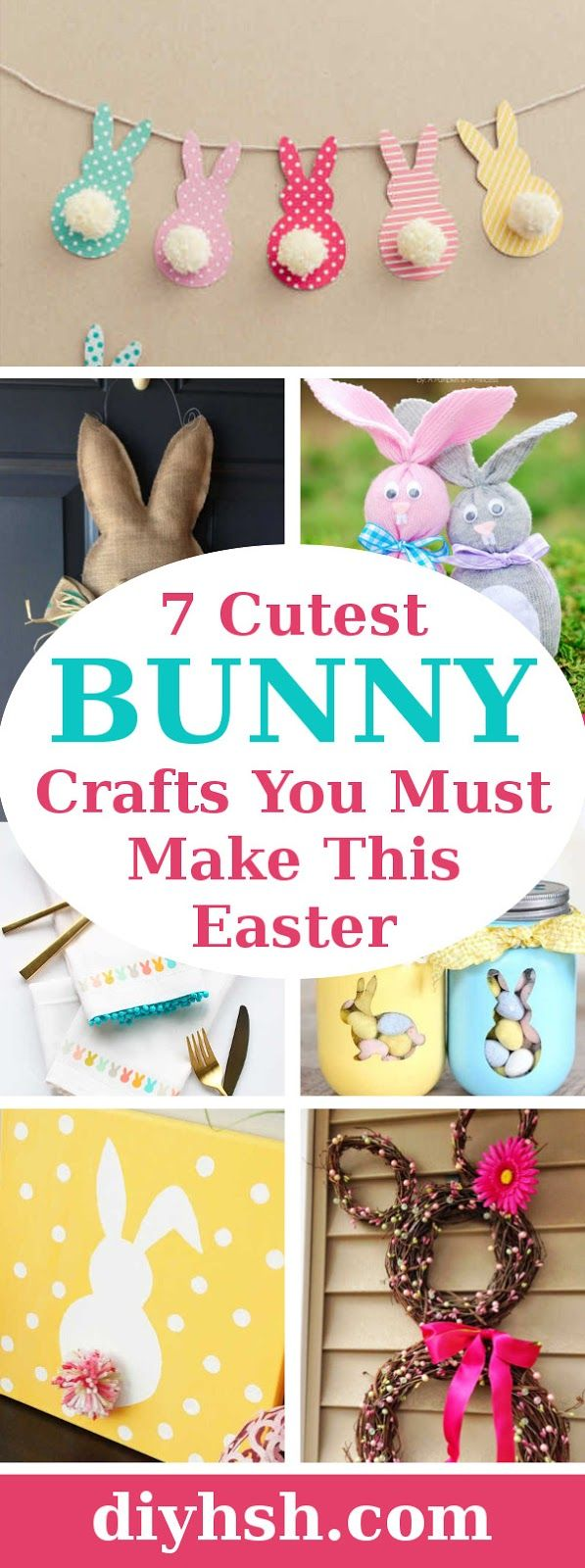 DIY Home Sweet Home: 7 Cutest Bunny Crafts You Must Make This Easter