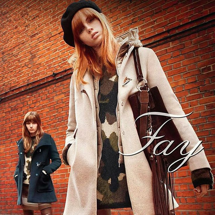 Shop at www.contreboutiques.com  A new feminine code, marked by beat references, lights up Fay #FallWinter 2015/16 #collection, creating the perfect look for a #modern and #sophisticated woman. #FW1516 #AI1516 #faybrand #fashion #style #cute #girls #redhair #ootd #lookoftheday #fashiongram #style #love #beautiful #shopping #ootdshare #outfit #fashionista #instastyle #LikesForFollow #instafashion #outfitpost #fashionpost #fashiondiaries #contreboutiques