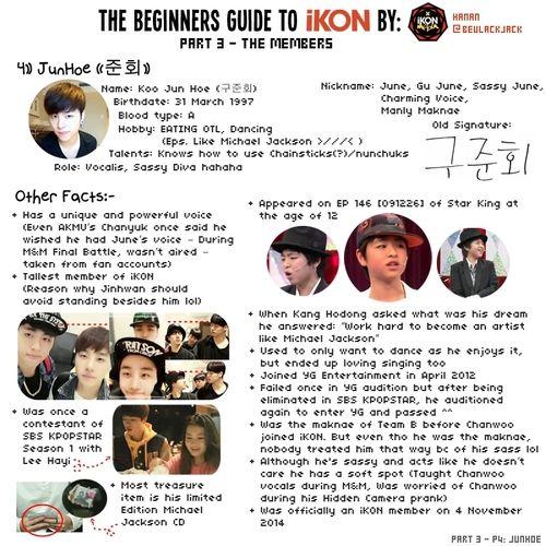 Awesome & Confident Giant Babe - Koo Jun Hoe #iKon #JunHoe    Beginner's Guide To iKon. Part 3- Members Profiles