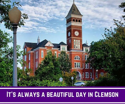 It's always beautiful in #Clemson, especially when you live just steps away from campus at Campus View Apartments - Clemson! #CampusView #solidorange