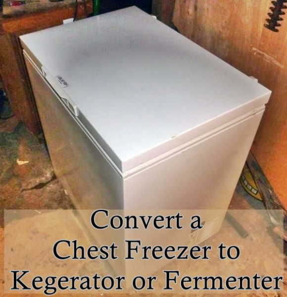 The Homestead Survival | Convert a Chest Freezer to Kegerator or Fermenter | http://thehomesteadsurvival.com