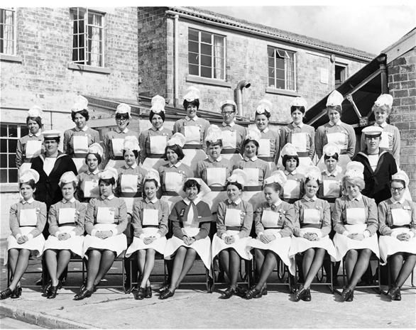 did you train at the Royal Naval Hospital Haslar?  Royal Naval Hospital Haslar in September 1970, the Class photo  was taken at our 6 month 'Block'  in about February 1971.