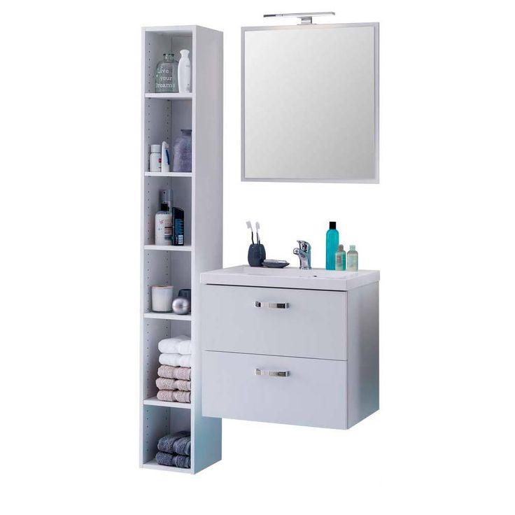 Badezimmermöbel Set Mit Regal Weiß (3 Teilig) Jetzt Bestellen Unter: ...
