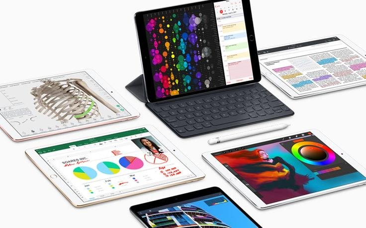 Check out the latest iPad from Apple.  One of Apple's big announcements at WWDC was the release of a 10.5-inch iPad Pro. While customers were able to pre-order last week, the new iPads were just now