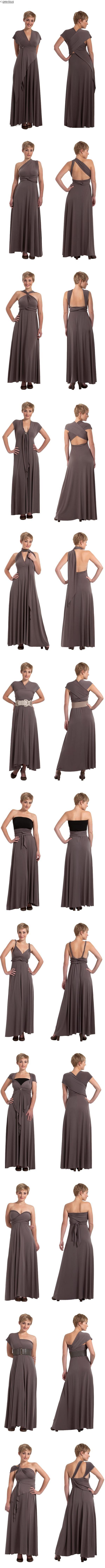 RICCI - Sass Designs - so many ways to wear it.