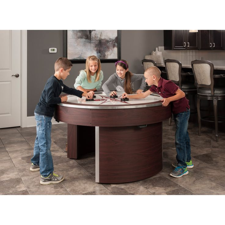 Orbit Eliminator 4 Player Air Hockey Game Table | from hayneedle.com