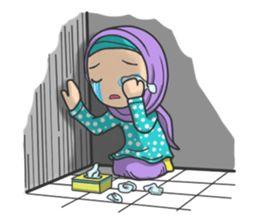 Flower Hijab - Creators' Stickers