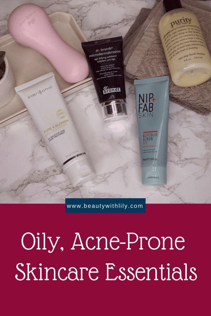 Oily, Acne-Prone Skin Essentials