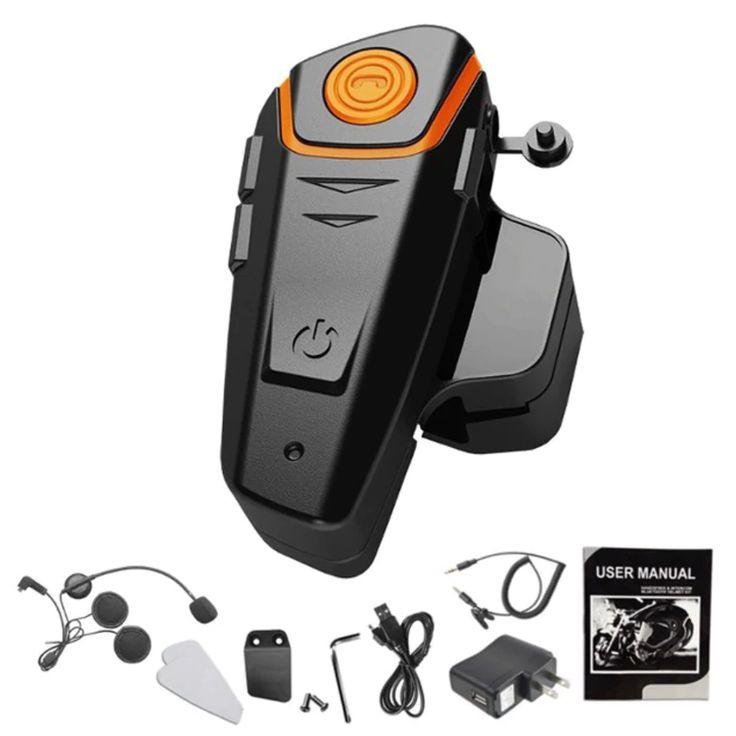 BT-S2 1000m Auricular Bluetooth Intercomunicador de Motocicleta Auriculares Bluetooth V3.0 + EDR Interphone Impermeable de Radio FM para Casco Inalámbrico o con Cable Precio de Venta Flash $34.52 Descripción:  El Inter Phone es un auricular Bluetooth diseñado para el motociclista y el pasajero que deseen tener comunicaciones inalámbricas claras y confiables mientras se conduce. Este auricular es compatible con los teléfonos celulares Bluetooth y puede ser adecuado para cualquier tipo de…
