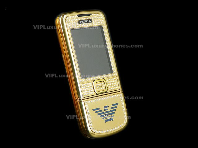 NOKIA 8800 Armani Limited Gold Mobile-Cell phone