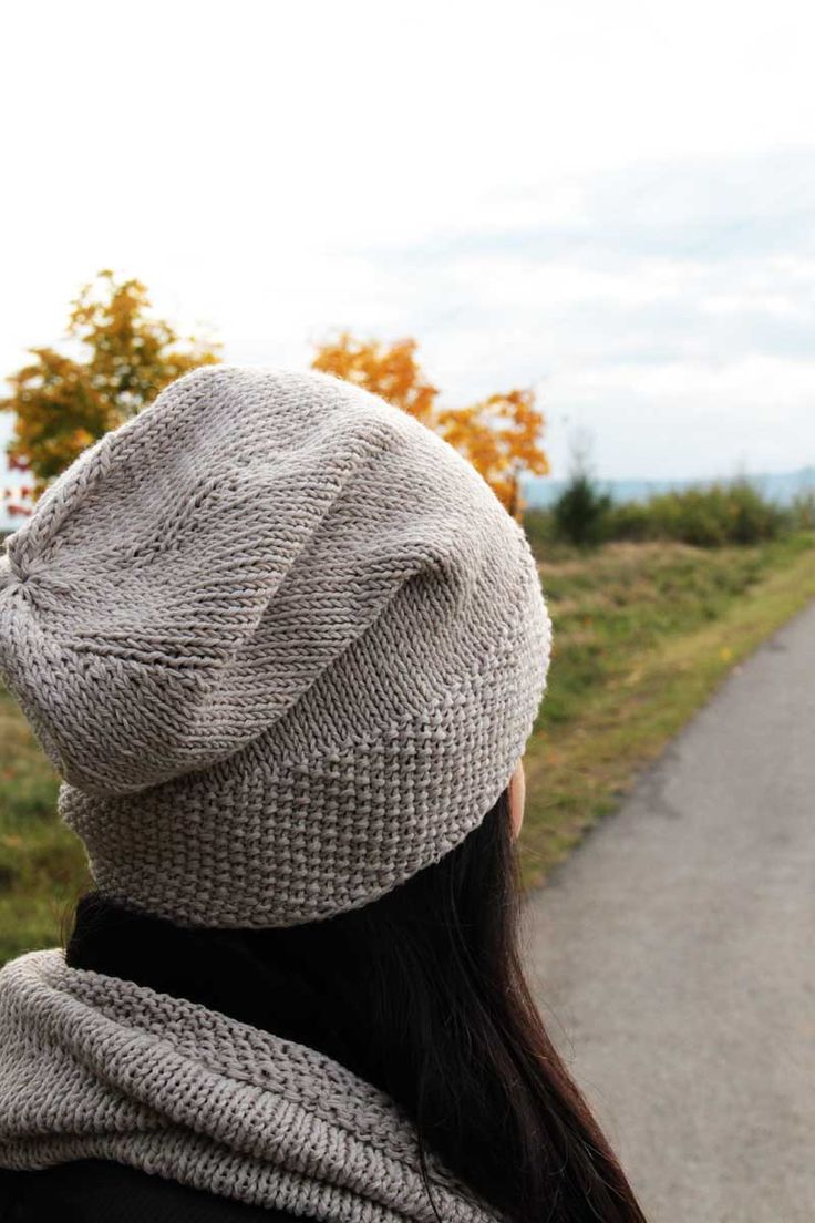 Návod na dámskou pletenou čepici homelesku a nákrčník