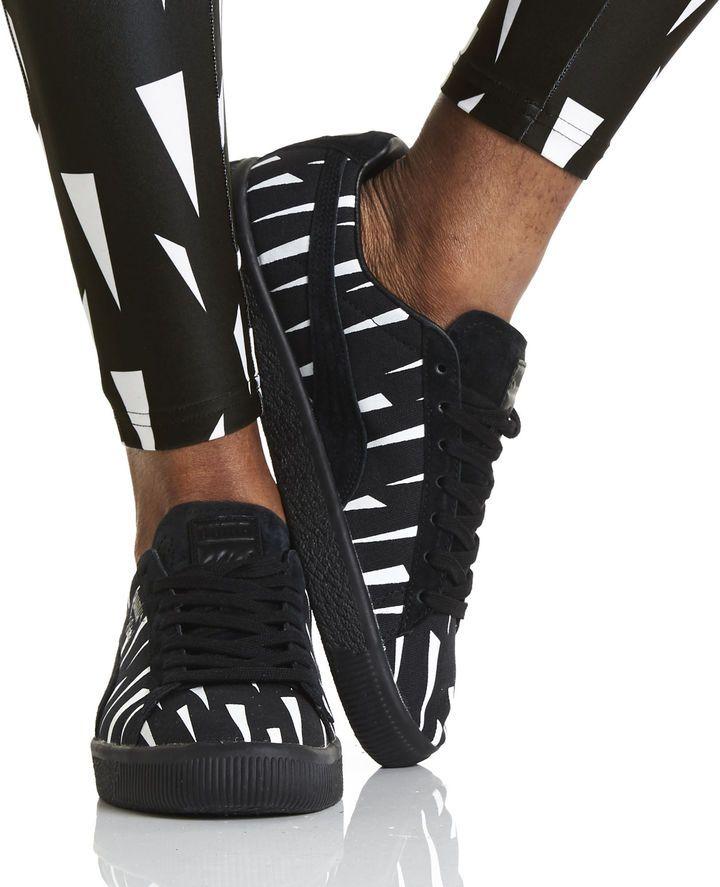 huge selection of 9d53b cffab Puma PUMA x Naturel Clyde Black Rain Sneakers   sport ...