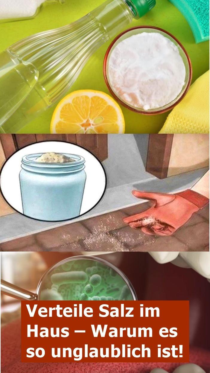 Verteile Salz im Haus – Warum es so unglaublich ist!   isfurano!