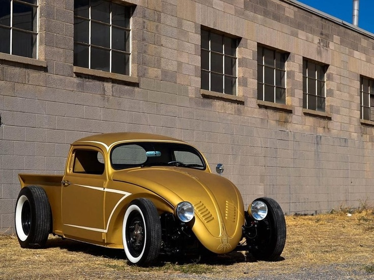 VW classic beetle Pick Up conversion! Let's just say I'm gonna be watching eBay and craigslist for bugs now