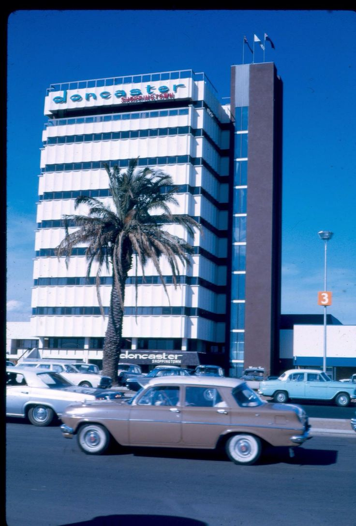 Westfield Doncaster-Melbourne 1970's. It was just 'up the hill' from us - Box Hill North.