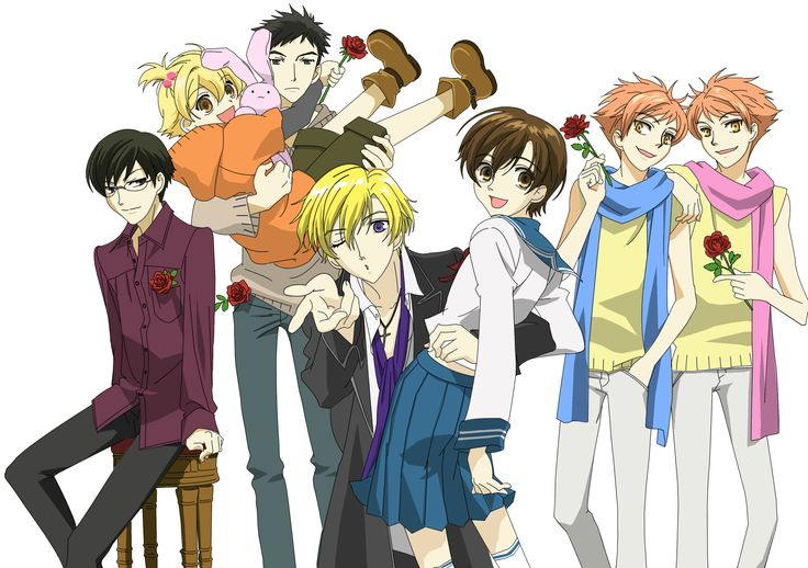 To Watch: Ouran High School Host Club