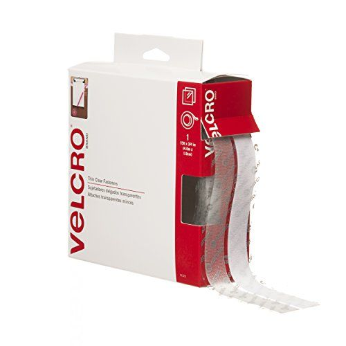 """VELCRO Brand - Sticky Back - 15' x 3/4"""" Tape - Clear, 2016 Amazon Top Rated Tapes, Adhesives & Sealants  #ArtandCraftSupply"""