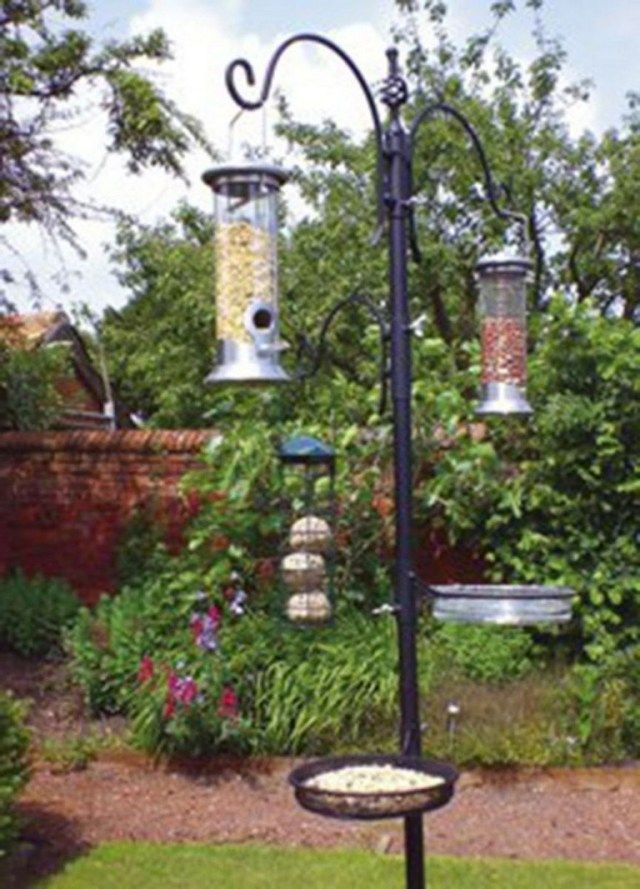 8 Beautiful Bird Feeding Station Ideas That Many Birds Come Into Your Garden Page 4 Of 10 Bird Feeding Station Bird Feeders Bird Garden
