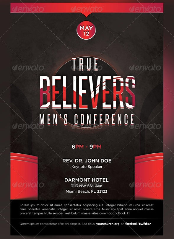 conference flyer examples