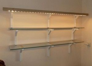 Using FRAMSTÅ as regular glass shelves | IKEA Hackers Clever ideas and hacks for your IKEA