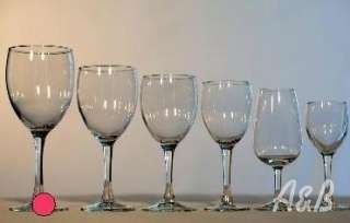 15oz. Wine Glass - good for serving both Red and White Wine!