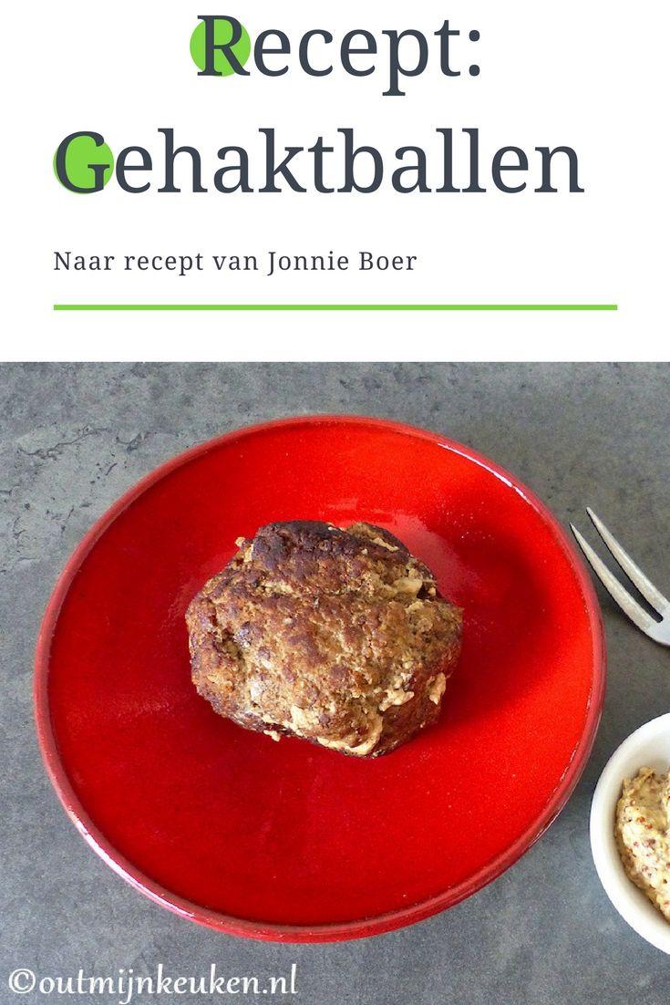 Gehaktballen naar recept van Jonnie Boer.