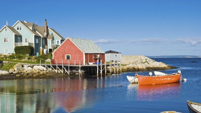 Discover quaint fishing villages and abundant seafood in Nova Scotia, Canada #travel #holidays #Canada
