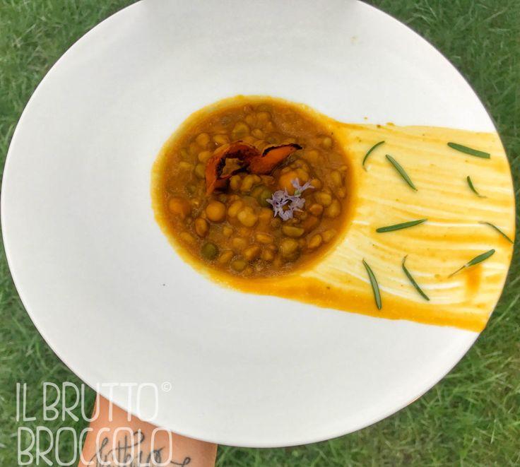 INGREDIENTI una confezione di zuppa (noi abbiamo usato quella di Ecor con cereali e legumi