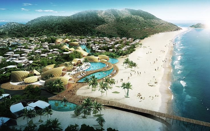 Sanya West Islet Club Med Resort Hainan China By As Architecture