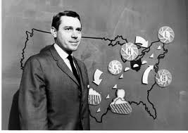 Yep...this was a hi-tech weather map....in 1962! lol