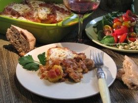 Polenta Lasagne - just watched Sarah make it on Sarah's Weeknight Meals (Episode #217 - Carnivores Unite!) and it is going on my meal plan for this week! Yum!