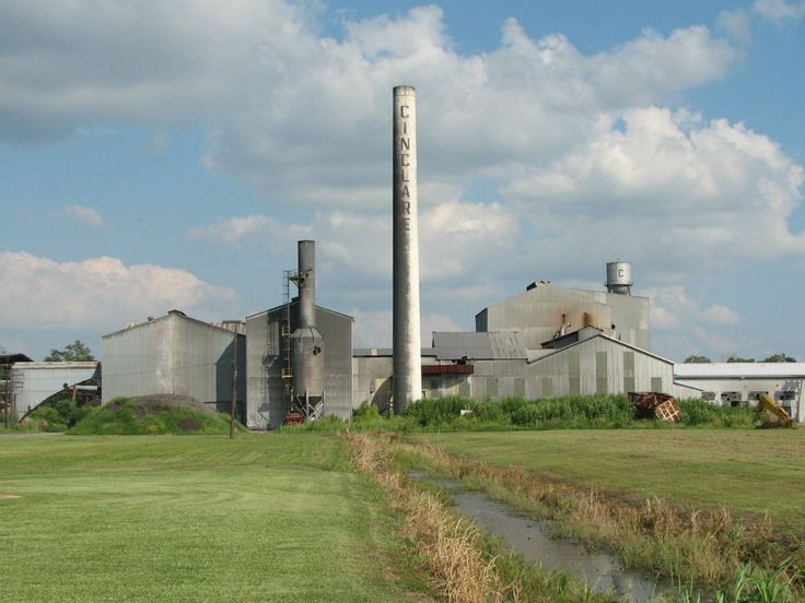 Cinclare Sugar Mill Historic District in West Baton Rouge Parish, Louisiana.