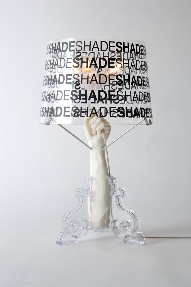 Pharrell Williams and other American creatives redesign Kartell's Bourgie lamp