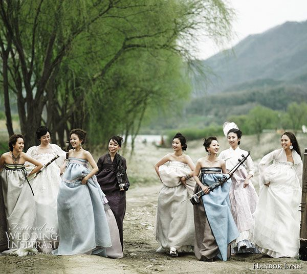 Korean fusion bridal gown #korean #asian #wedding #pregnant