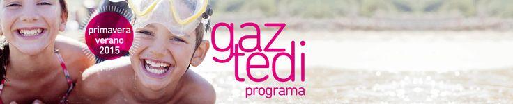 Bilbao bizkaia Kutxa (bbk) ofrece el Programa Gaztedi de ocio, tiempo libre y formación en verano 2015. La oferta incluye colonias de verano, campus de día, actividades, deportes y cursos de idiomas para niños y jóvenes de 3 a 18 años clientes de Kutxabank http://www.campamentos.info/Ultimas-noticias/obra-social-de-kutxa-ofrece-el-programa-gaztedi-de-cursos-de-idiomas-actividades-y-colonias-de-verano-2014