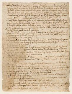 Curriculum vitae by Leonardo da Vinci