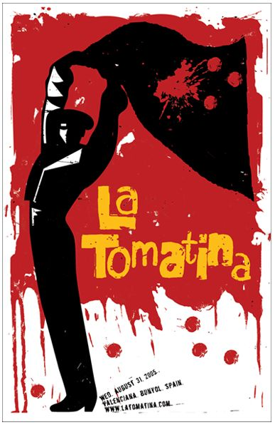 Attend La Tomatina in Spain.