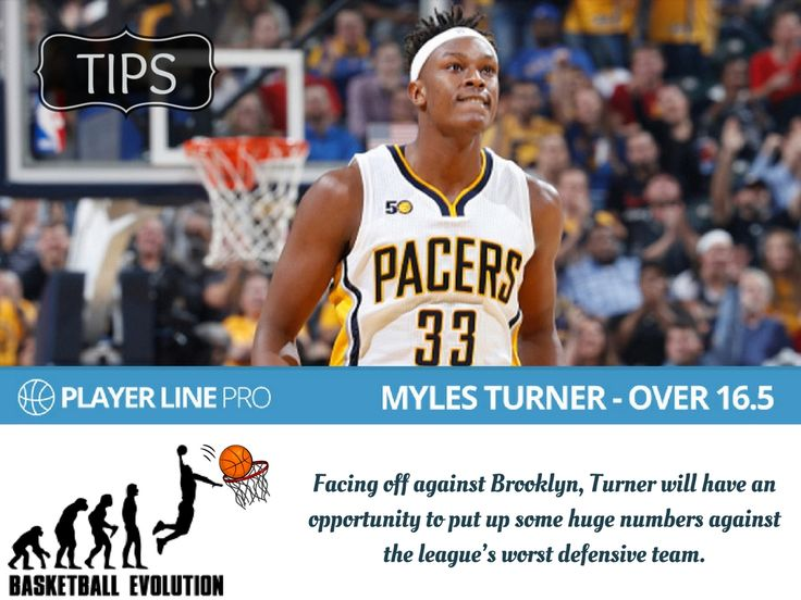 Have a look at this image of Myles Turner - over 16.5. He is an American professional basketball player for the Indiana Pacers of the National Basketball Association. Want to know more about him, read this full blog available at playerlinepro.com  #NBADailyPicks #NBADailyTips #LineMovement #PlayerLinePro #PlayerLine
