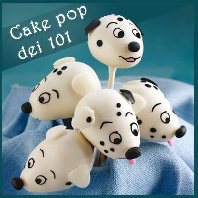 #Cake pop dei 101   #carica101 #disney
