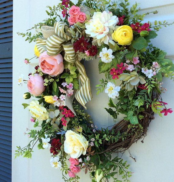 25+ best Summer door wreaths ideas on Pinterest | Diy ...
