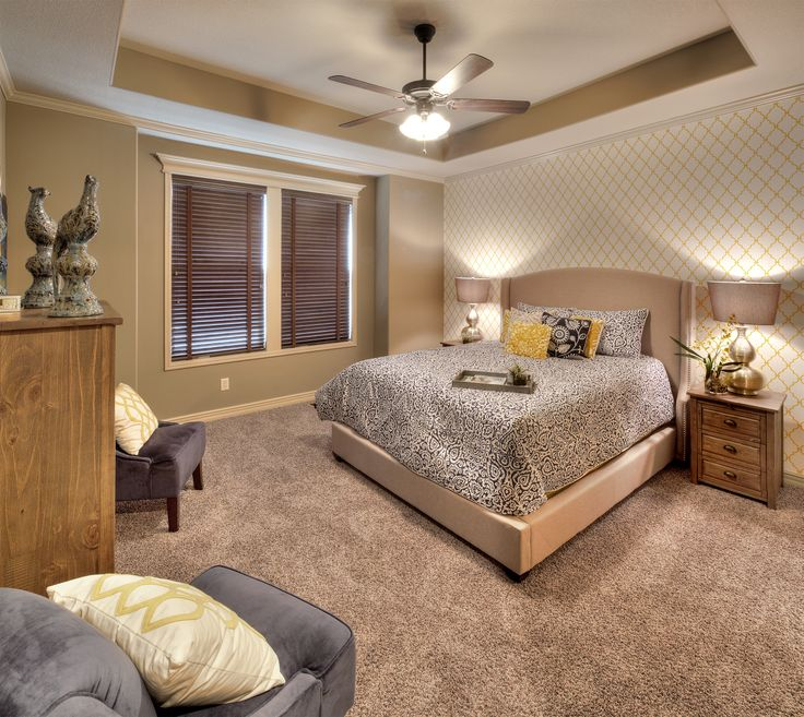 Master Bedroom Wallpaper Accent Wall: 47 Best Master Suites Images On Pinterest