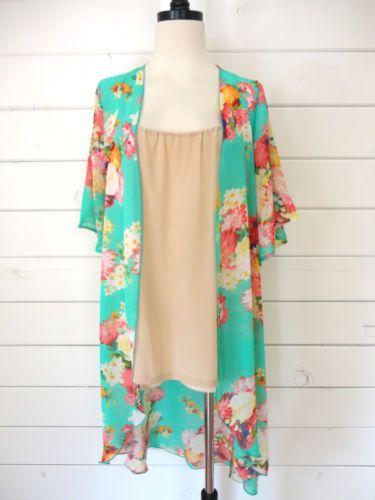 8 best Clothes images on Pinterest | Floral kimono, Boho kimono ...