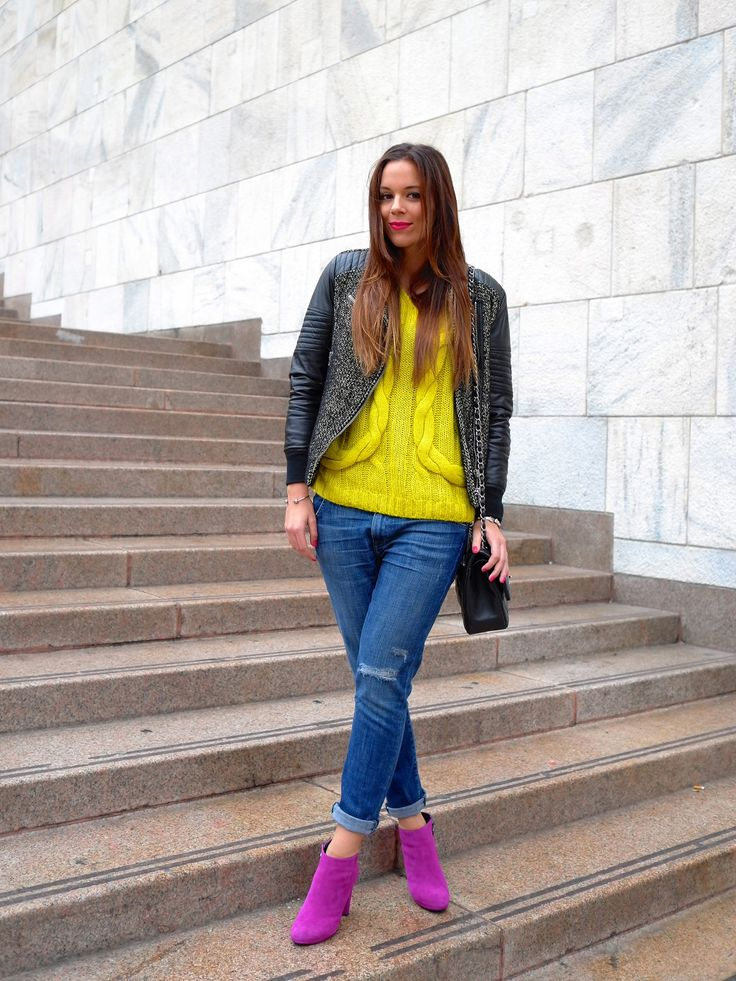#GEOXONTOUR with Facehunter Irene Colzi from Irene's Closet wearing Kali ankle boots.  Click through to discover more GEOX styles.
